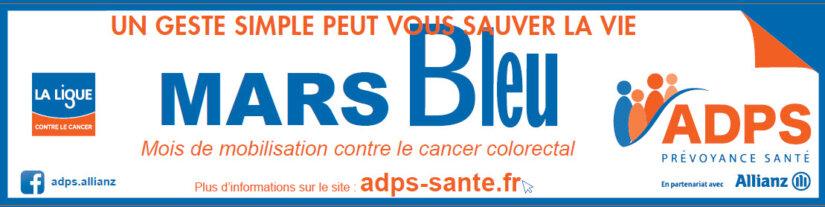 La nouvelle campagne MARS BLEU est lancée !