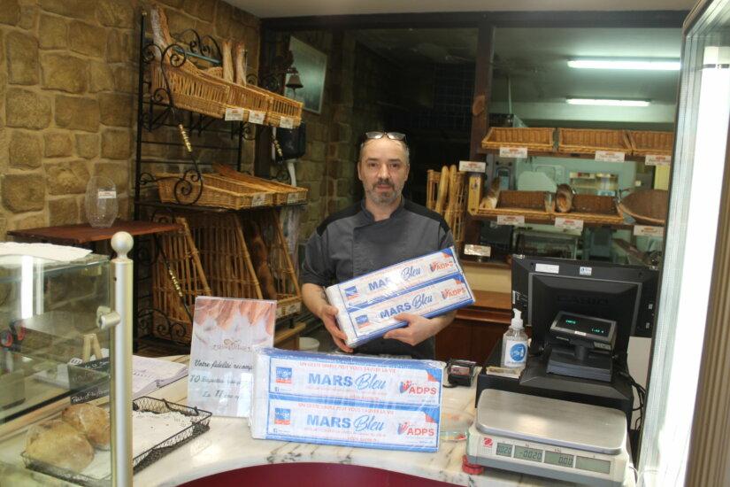 Opération mars bleu boulangeries du Limousin