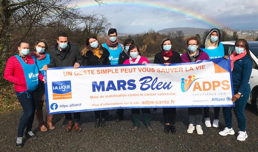 Mars Bleu : des kilomètres pour sensibiliser au dépistage du cancer colorectal