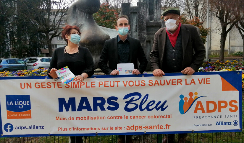 Mars Bleu : le plein d'actions contre le cancer colorectal