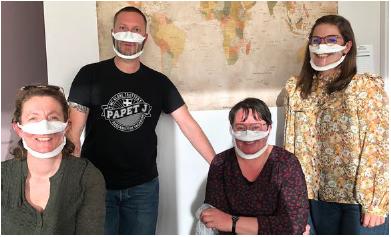 Des masques inclusifs pour l'I.M.E de Lascaux