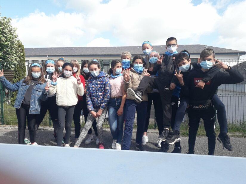 Journée de sensibilisation au handicap au collège d'Aix-sur-Vienne