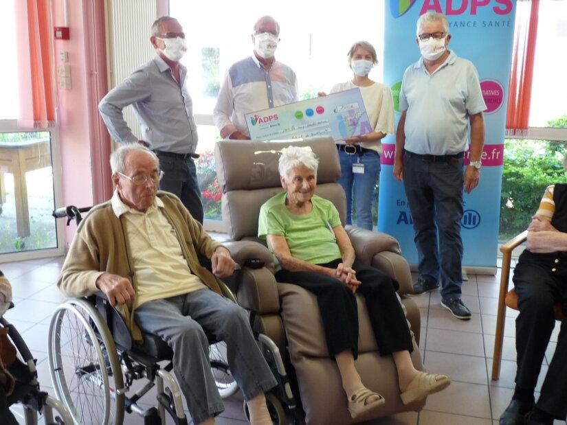 Un don pour l'achat de fauteuils